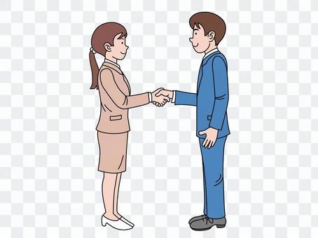 Handshake (establishment of negotiation) 2