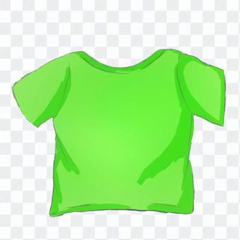 Tシャツ-緑