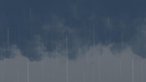 Rain cloud heavy rain rain sky background
