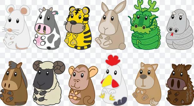 生肖動物集