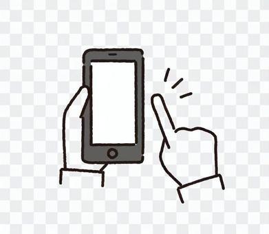智能手機操作