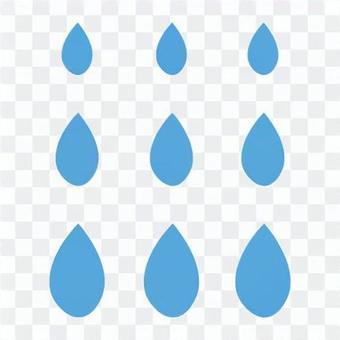 天氣標記(雨)