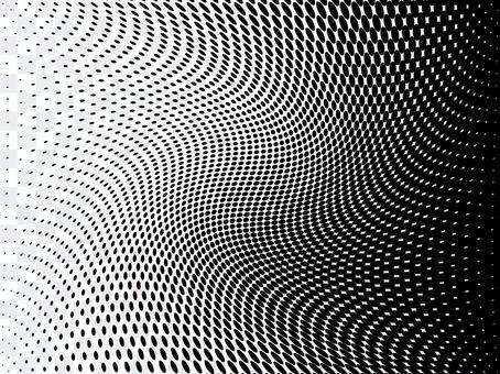 ドットグラデーション-旋回