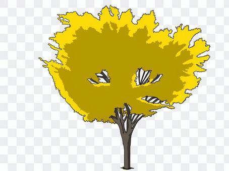 街路樹(紅葉②)