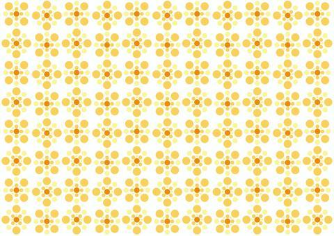 壁紙 - 波爾卡圓點水 - 橙色