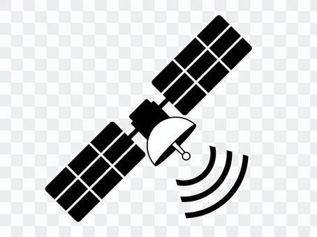 衛星(GPS)黑白2