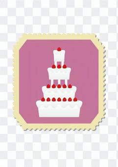 Seal wedding cake