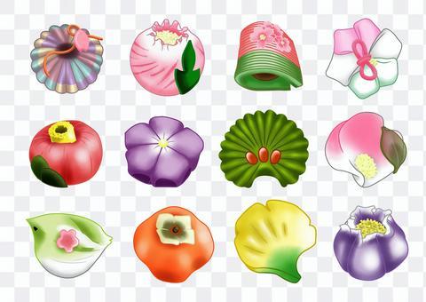 日本糖果天然形式12套