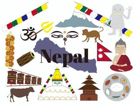 ネパール素材