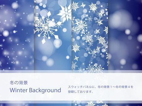 冬天顏色背景設置ver 01