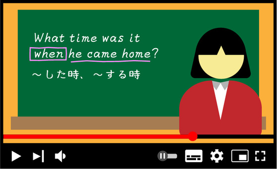 Online lessons video lessons English