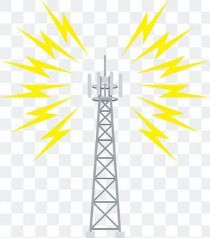 携帯・スマホ 基地局 アンテナ 鉄塔