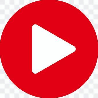 電影播放按鈕_ 03 _紅色