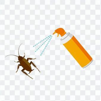 살충제와 바퀴벌레