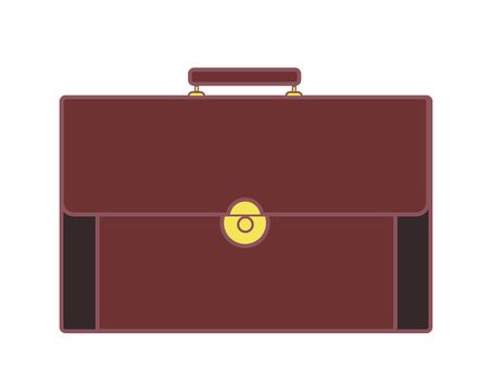 Leather bag 10-1 (Brown)