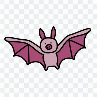 蝙蝠的插圖