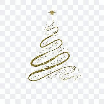聖誕樹004閃閃發光的跛腳