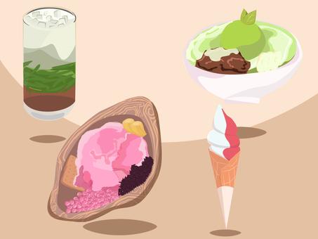 冰製糖果套裝,印尼小吃