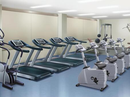 訓練健身房