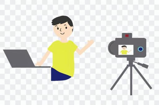 拍攝視頻的人
