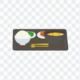 Korean food set meal 1