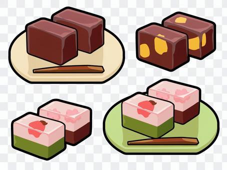 烹飪_日本甜點_Yotei_帶線