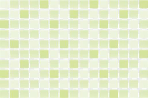 瓷磚圖案(綠色)