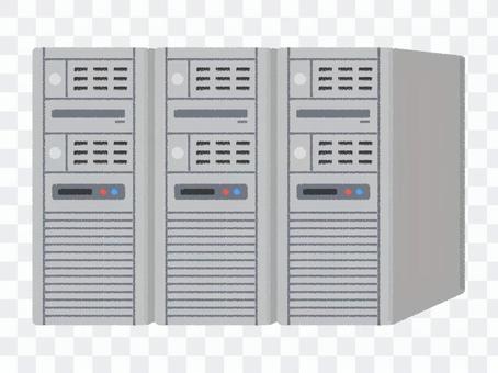 Server computer system multiple