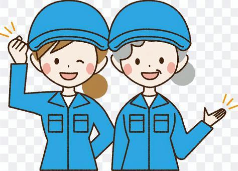 工场作业员2人_NA35