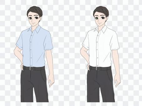 酷商務男士(短袖)