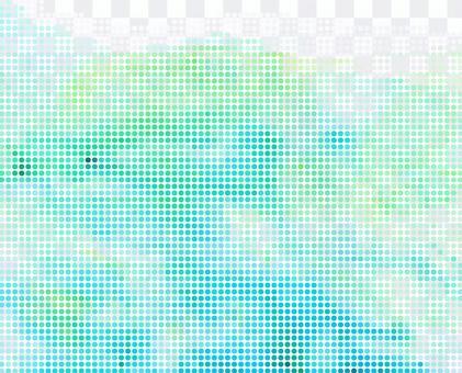 水彩風點紋理