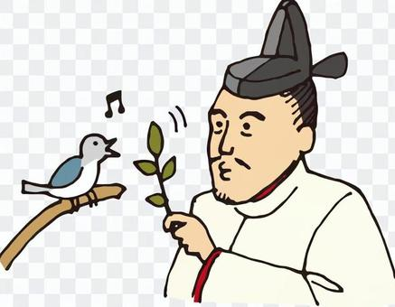 Warlords (Toyotomi Hideyoshi and birds)