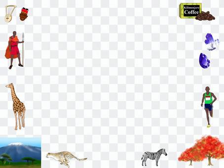 Image illustration of Kenya and Tanzania