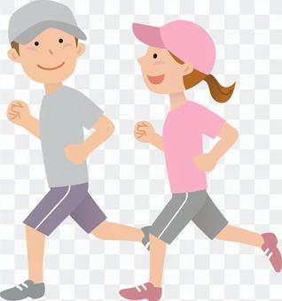 70402, Men and women, Jogging 2