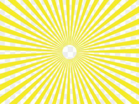 黃色輻射背景材料