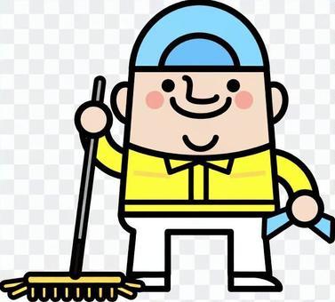 仙女叔叔清潔工