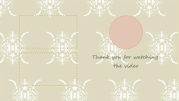 經典背景視頻端卡