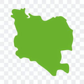 世田谷区:地方地図