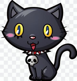 萬聖節_黑貓