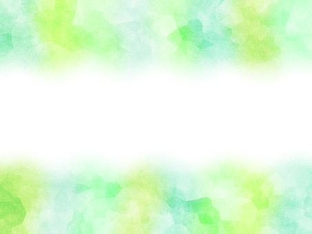 녹색 하늘색 연두색 그라데이션 프레임 배경