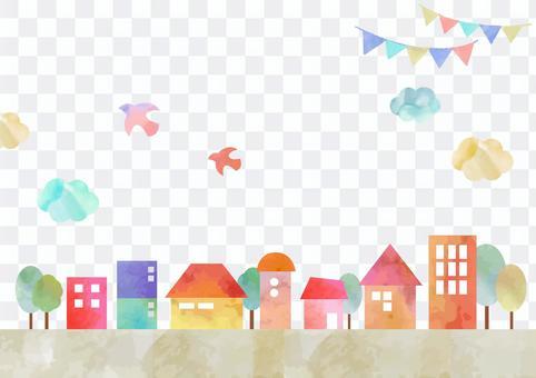 裝飾材料091城市景觀