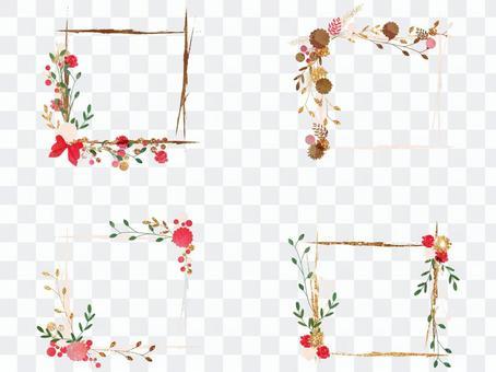 冬天彩色框架集版本02