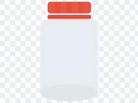 水果酒的玻璃瓶