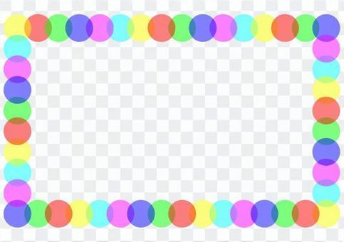 簡單的圓點框架2