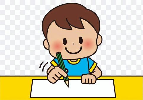 學習作業鉛筆