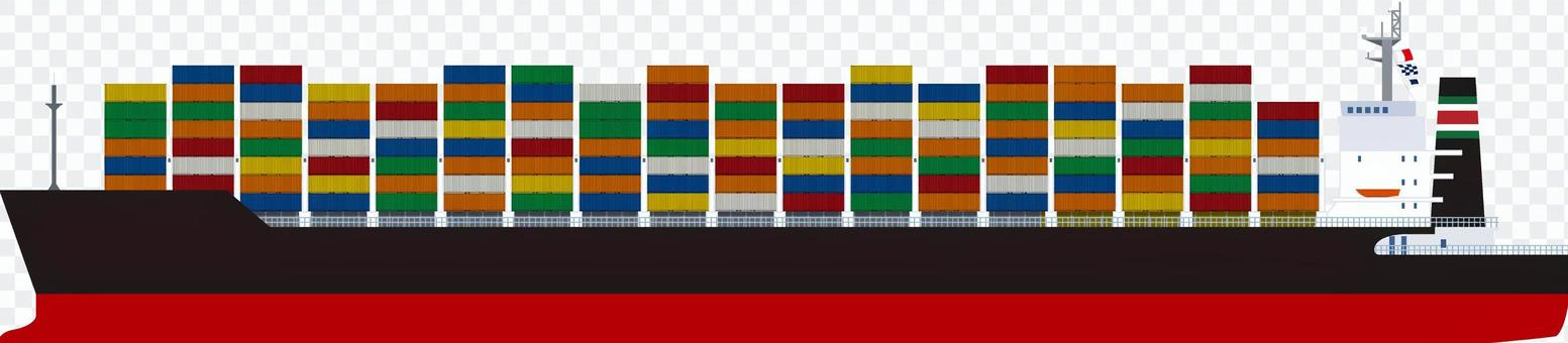 集裝箱船貨船