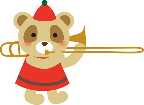 熊貓吹長號