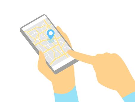 智能手機 GPS