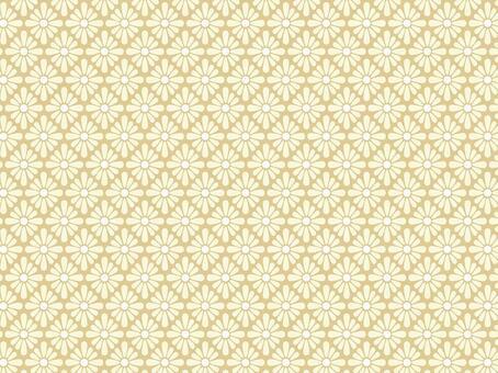 菱形ai菱形菊花圖案