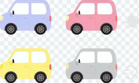 参观排练车4种颜色